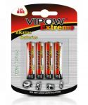 Baterie alkaliczne AAA VIPOW EXTREME LR03 4szt./bl.